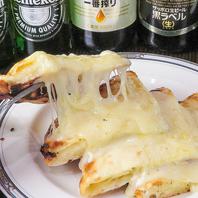 熱々のチーズナンが大人気です♪