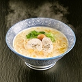 料理メニュー写真濃厚!鶏白湯ラーメン