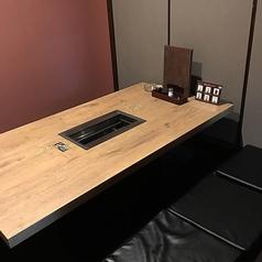 6名様用の掘りごたつ個室は2室ございます。