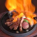 料理メニュー写真国産黒毛和牛のステーキ