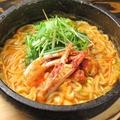 料理メニュー写真ケジャン麺