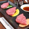 料理メニュー写真仙台牛特上カルビ(1枚)