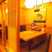 木の温もりあふれる個室空間を御提供!※画像は系列店