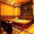 2Fは完全個室の座敷席は最大30名様まで収容可能!