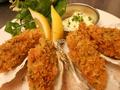 料理メニュー写真牡蠣フライ・自家製タルタルソース