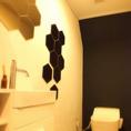 モダンで清潔なトイレは皆様に喜ばれております♪