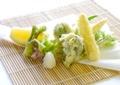 料理メニュー写真山菜の天ぷら