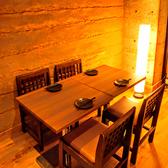 2~4名様向けのテーブルの御用意!!プライベート使いにも宴会使いにもご利用頂けます。是非ご利用下さい!!