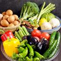料理メニュー写真契約農家の有機野菜