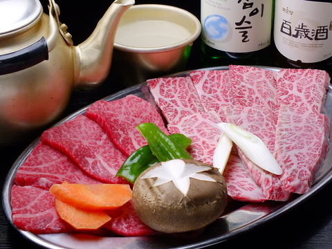 サービス満点、コストパフォーマンスが高い韓国料理。:・*