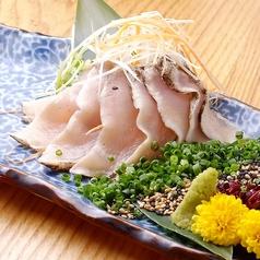 茨城県産総州古白鶏の藁焼きタタキ