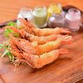 料理メニュー写真4種のシュリンプフライ -5色のタルタルソース-