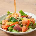 料理メニュー写真焼津水産おすすめ海鮮サラダ