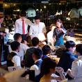 【パーティー/結婚式2次会】 大型プロジェクター完備