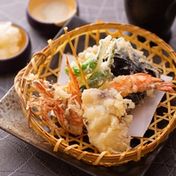 【あかし亭のこだわり2】職人が揚げるアツアツの天ぷら