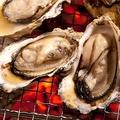 料理メニュー写真焼き牡蠣〈4個〉