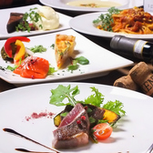 こだわりの食材を使用した特製コースをご用意。味はもちろん、目でも楽しめる芸術的な盛り付けにも感激。