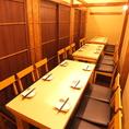 【少人数のテーブル個室】2~18名様まで!会社宴会や久しぶりの同窓会、誕生日、お祝いパーティーにおすすめ★