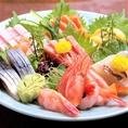 鮮魚にこだわった刺身盛り!鮮度抜群の海鮮料理を、ちゃんこ鍋や日本酒と一緒にお楽しみ下さい。