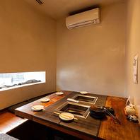 【北新地駅11-21出口より2分】窓あり掘りごたつ個室