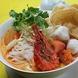 ランチ限定のトムヤムクンラーメン♪濃厚スープが二重丸