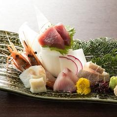 料理メニュー写真北海道 鮮魚の五点盛り