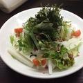 料理メニュー写真大根と山芋の梅じゃこサラダ