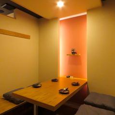 掘り炬燵の個室となります。接待・女子会・飲み会・デートなど様々なシーンに対応可能!