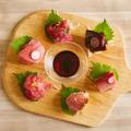 料理メニュー写真生MAGUROの希少部位盛合わせ6種