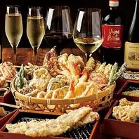 カジュアルに天ぷらを楽しむ♪