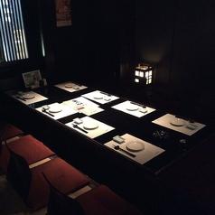 BOXテーブル席は2名様からご利用頂けます。◆4名テーブル×5 ◆6名テーブル×2 【名古屋/栄/居酒屋/個室/接待/宴会/海鮮/飲み放題/大人数/記念日/名古屋飯】