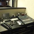 音響設備も完備。マイクや各端子もご用意しておりますので、お好みの音楽を流して頂いたり、マイクでの司会進行など。利用用途は様々♪