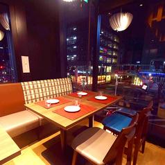 2名様から最大35名様程度までご案内!!豊田市駅で宴会なら炙-ABURI-へ♪女子会や合コン・接待もお任せ下さい。雰囲気の良い窓際のお席がおすすめです♪飲み放題付コースは2000円~ご用意!単品飲み放題も1300円~♪