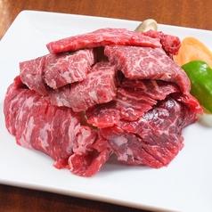 本日の肉の山 (豪快300g盛り)