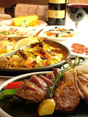女子会にオススメ☆本格スペイン料理をリーズナブルに♪