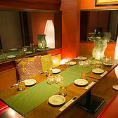 ◆6~12完全個室◆足をお伸ばし頂ける個室