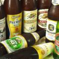 ビールも豊富に揃えております。