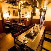 ≪店内奥の隠れ席≫4名×6テーブル席あり(MAX30名ほど座れます)