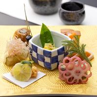 伝統ある日本料理をご提供。ひとつひとつを丁寧に調理