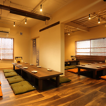 ゴキゲン日本酒酒場 TOKYO-X 日本酒しゃぶしゃぶ 東京ハレル家の雰囲気1