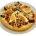 料理メニュー写真テリヤキチキンピザ