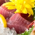◇新鮮な食材のお食事を思う存分お愉しみ頂きたい!常に新鮮な魚介類を仕入れております。お魚や貝類、甲殻類等、種類豊富にご用意。新鮮なものこそ贅沢にお刺身やお造りで。ビールはもちろん、日本酒や焼酎との相性も抜群です!素材本来の味をご堪能下さい!