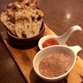 料理メニュー写真白レバーのパテ ~メルバトースト添え~ Sサイズ/Mサイズ
