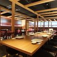 最大46名様までご利用いただける個室席を完備しております☆京都観光の夜は京風創作料理を大人の雰囲気感じる和の個室でご堪能いただけます♪一部フロア貸切等、詳細はお気軽に店舗までご相談ください。