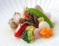 料理メニュー写真季節の野菜の炊き合わせ