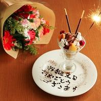 【お誕生日のお客様にメッセージを】