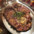 料理メニュー写真間違いないTボーンステーキ