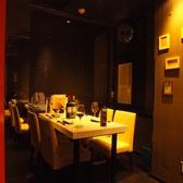 簾に仕切られたお席、簾がない席もあります。 【肉寿司/焼肉/誕生日/記念日/歓送迎会】