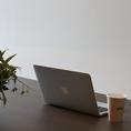 Wi-Fi Free! Charge Free!! 充実のネット環境でビジネスにも最適です!