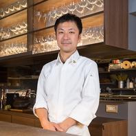 大阪・天満スフィーダ料理長を務めたオーナーシェフ